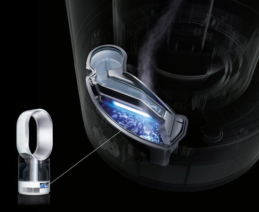 Dyson Ultraviolet Cleanse™ technology.