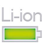Graphic depicting a Lithium-ion battery